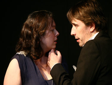 Carrie Westwater as Guinevere, Colin Healy as Lancelot