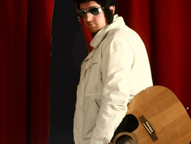 Allan Scott-Douglas as Elvis-mad John in 'Suspicious Minds' by Caroline Dunford